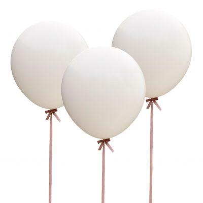 Ballonnen wit 3 stuks