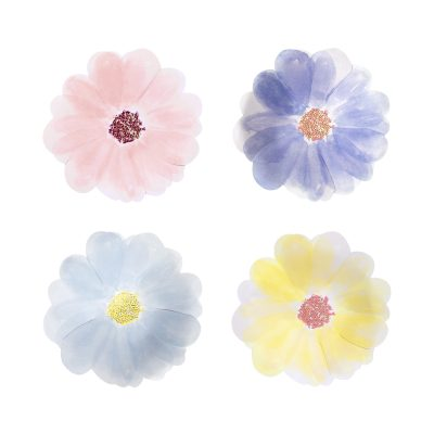 bordjes bloemen