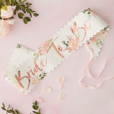 Bride to be floral 2